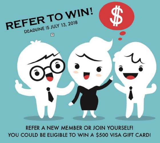 Refer a member!